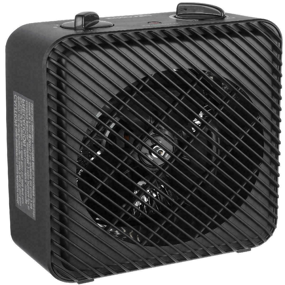 1500w 3 speed electric fan forced space