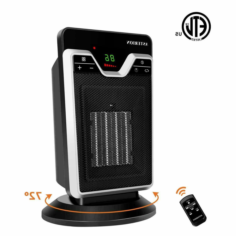 1500w mini ceramic electric heater home office