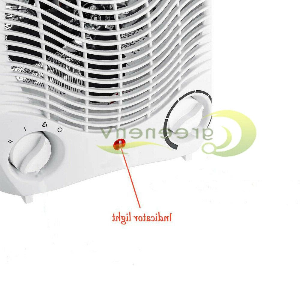 1500W Space Heater 3 Settings Forced Adjustable