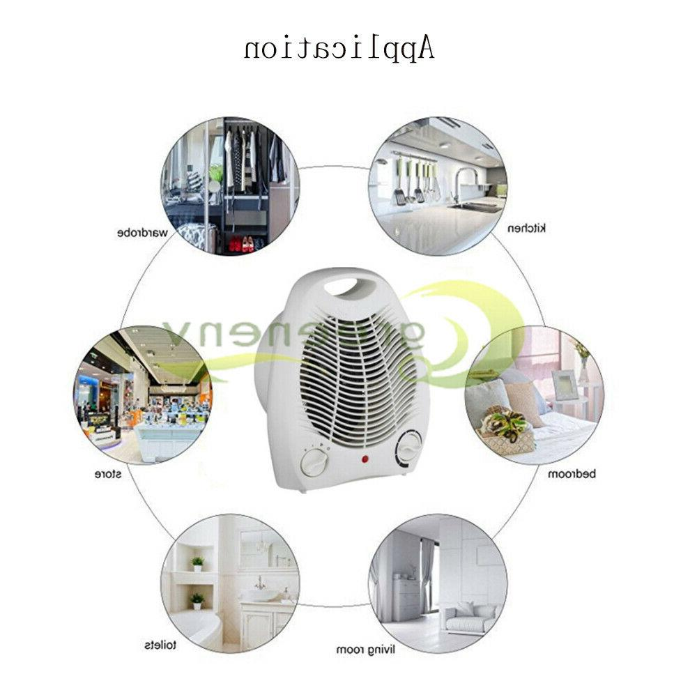 1500W Portable Electric Space Heater Forced Thermostat