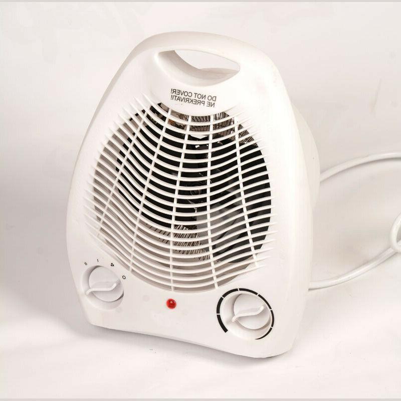 1500W Portable Heater Fan Adjustable Thermostat 3