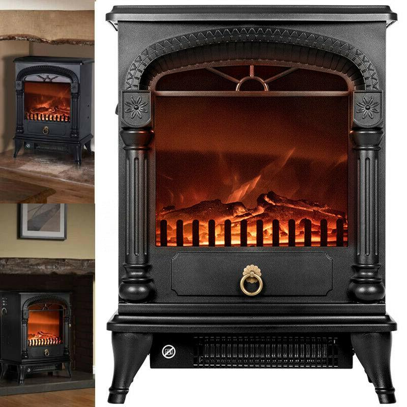 20 electric fireplace space heater fire wood