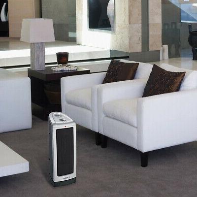Lasko 5307 1500W Room Oscillating Tower Space Heater