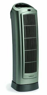 Lasko 5538 Ceramic 30 Tower Heater with Remote Control