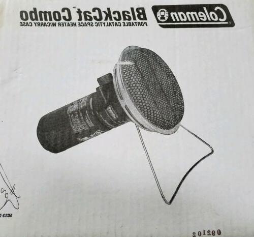 BRAND Coleman BlackCat Combo Heater Carry