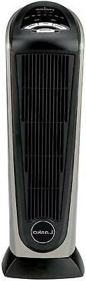 Ceramic Tower Space Heater With Remote Control Features Buil