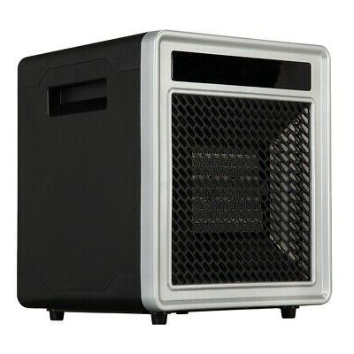 compact 1500w room space cabinet heater
