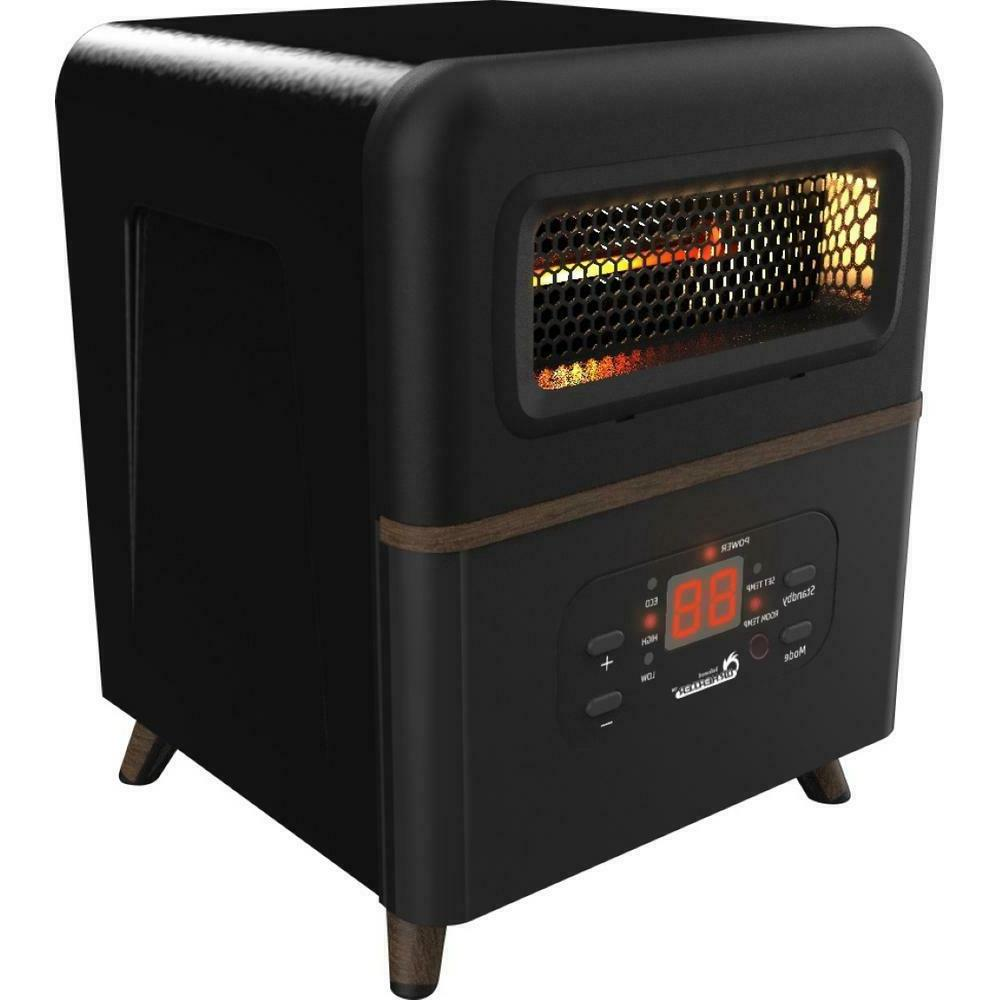dr infrared 1500w portable adjustable space heater