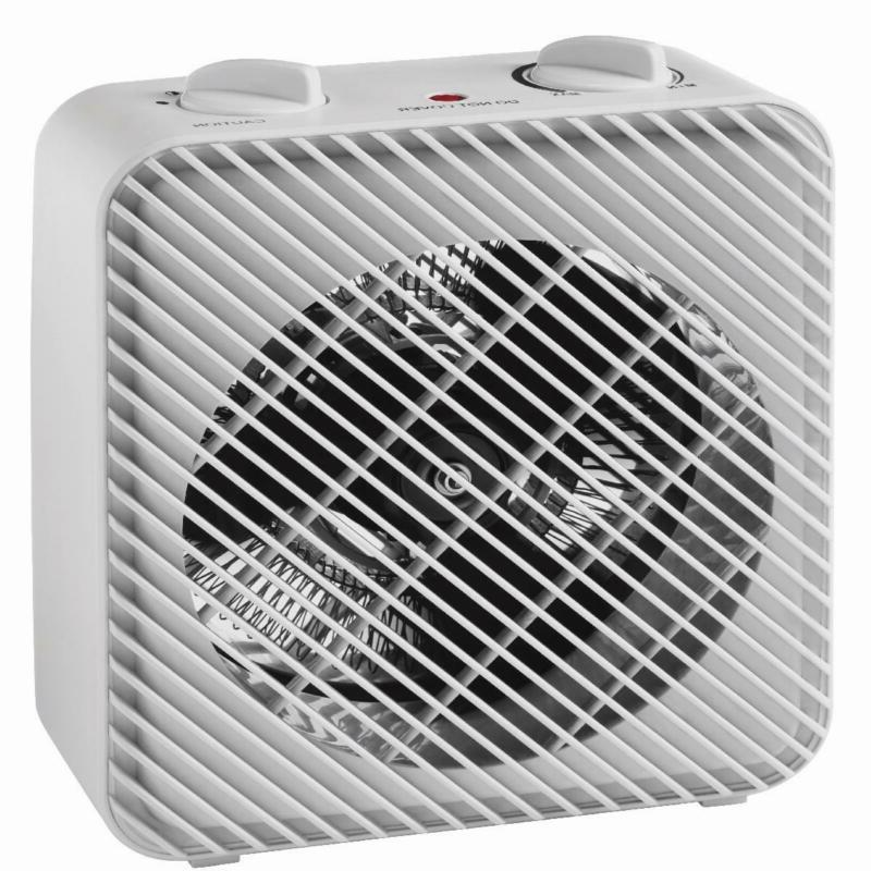 Electric Fan-Forced Space Heater Cool Air Mode Quiet