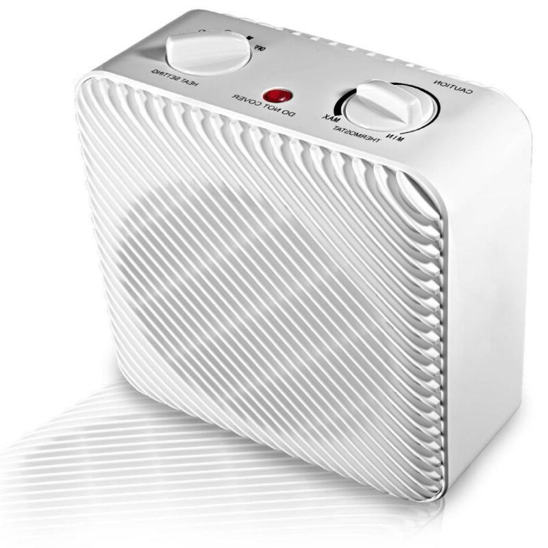 Electric Heater 3-Speed Hf-1008w Cool Air Mode Quiet