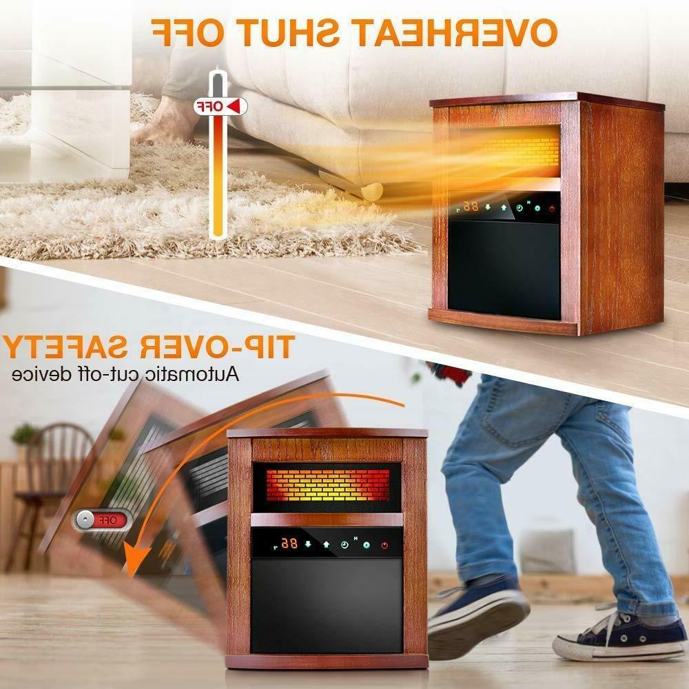 Air Heater 1500W INFRARED w/ Heat