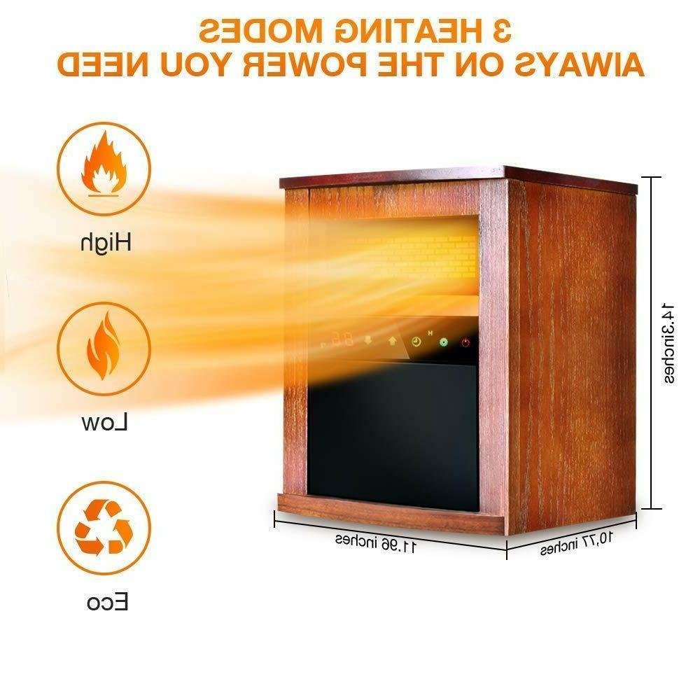 Air Heater 1500W Heater Remote