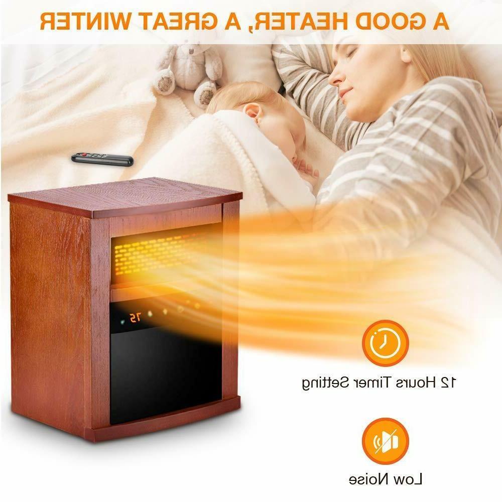 Air Electric Heater w/ Remote