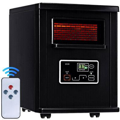 goplus 1500w electric portable infrared quartz space
