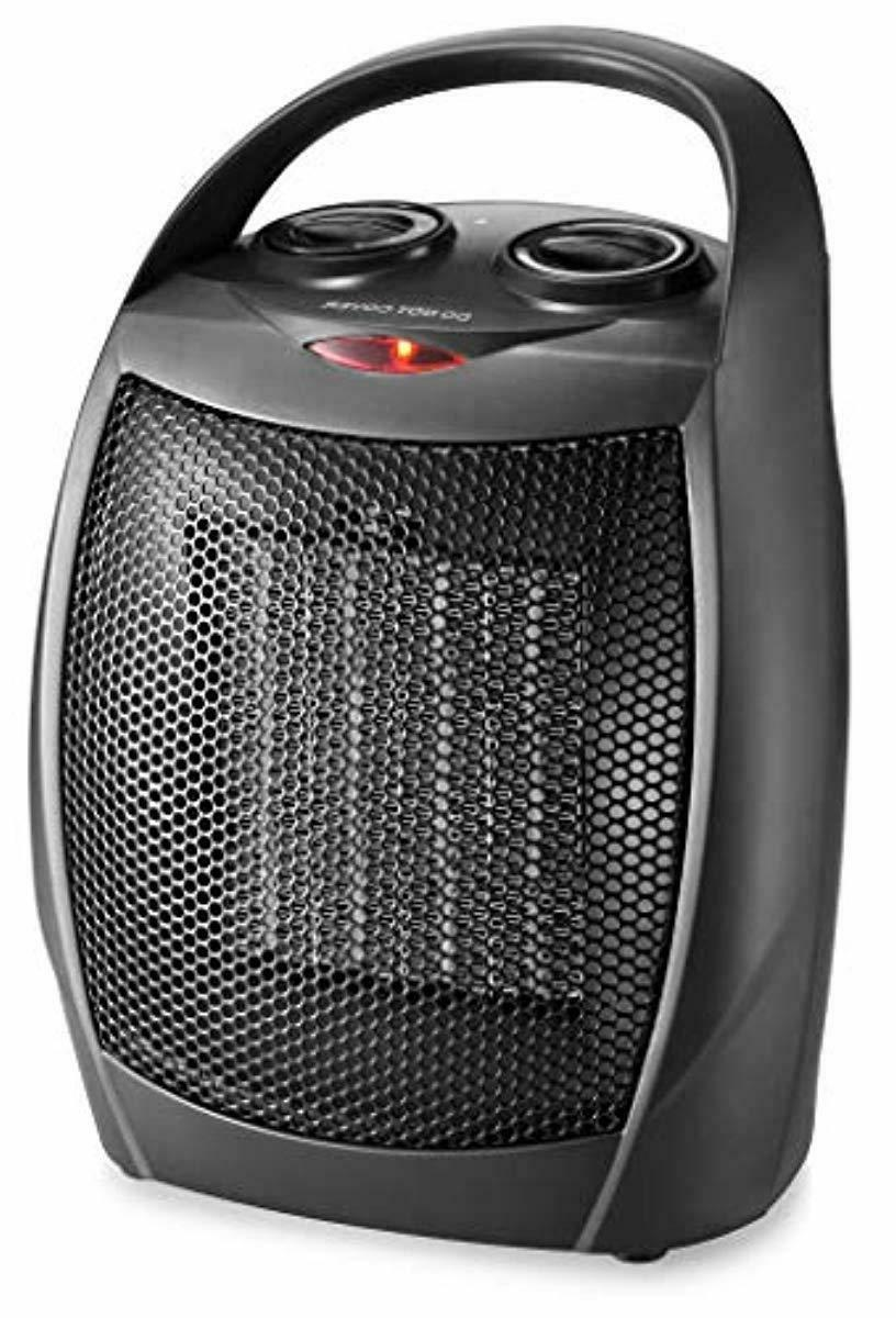 home choice small ceramic space heater electric