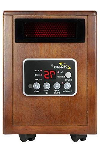 iLIVING Infrared Heater Dual System,