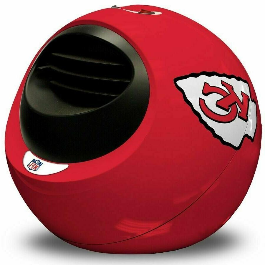 kansas city chiefs portable infrared indoor helmet
