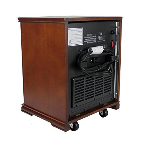 LifeSmart LifePro 1,500 Watts Infrared Quartz Portable Heater