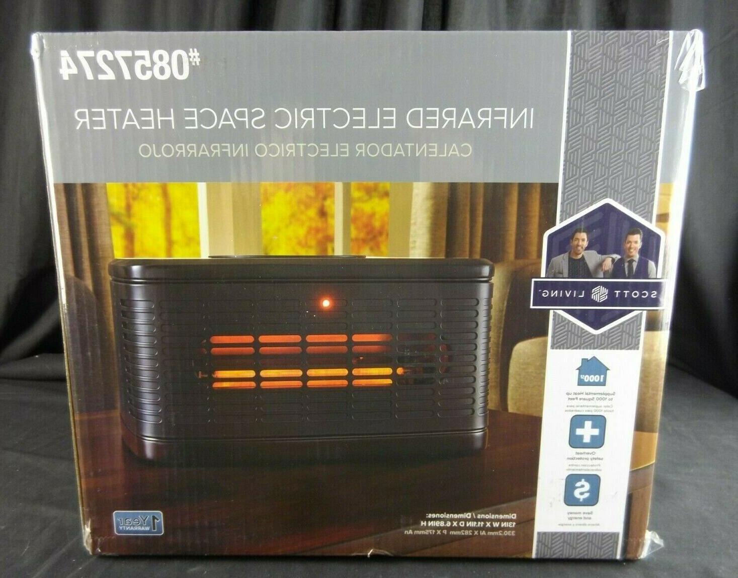 new 1500 watt infrared quartz cabinet electric