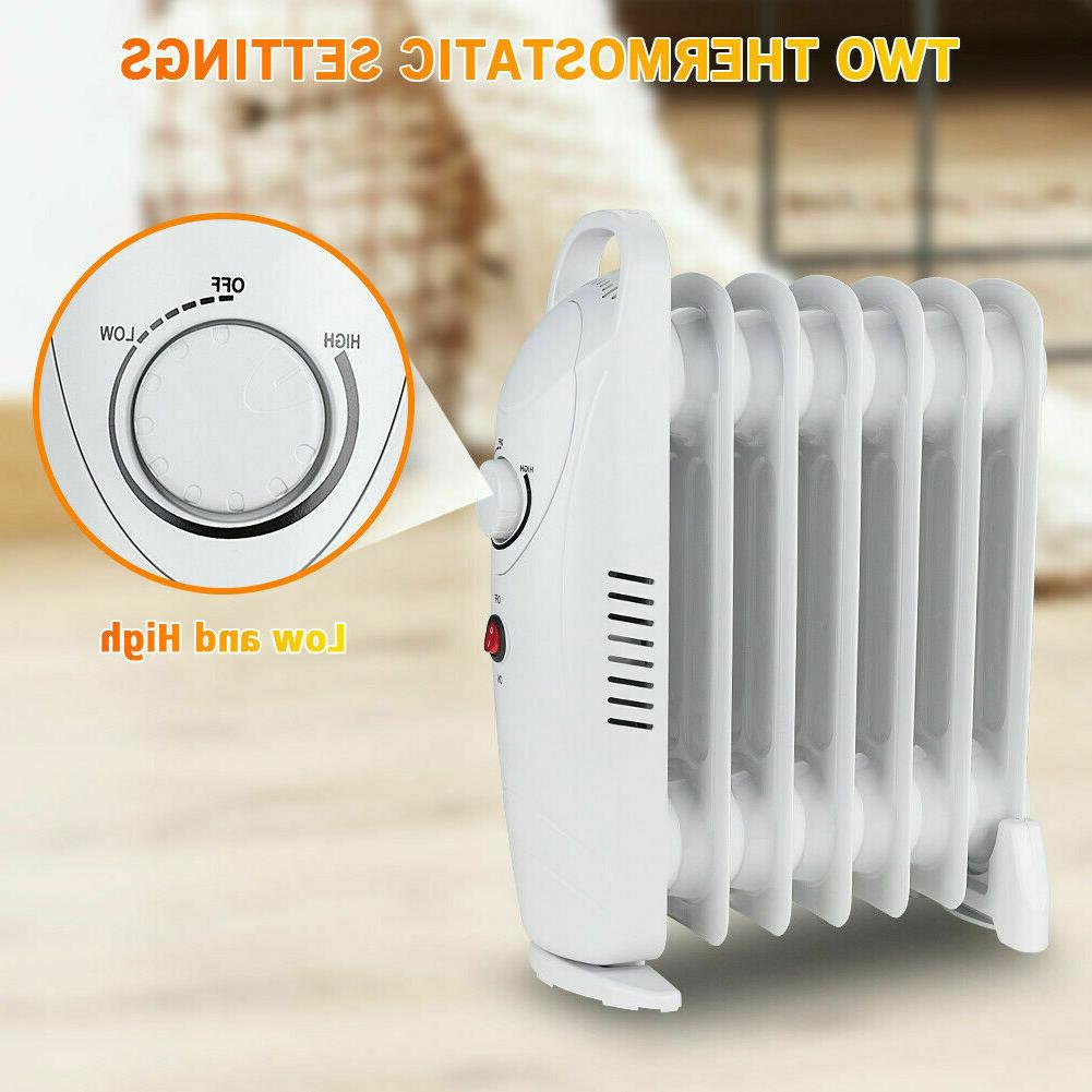 Oil Filled Radiator Portable Safety