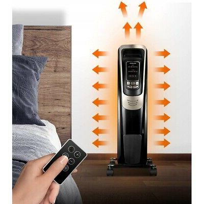 Pelonis Portable Space Heater Programmable Thermostat