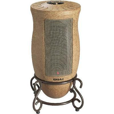 oscillating electric ceramic space heater designer series