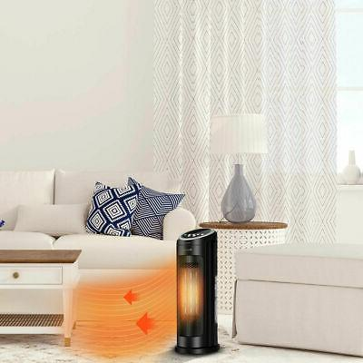 Portable Oscillating PTC Space Heater 12H Timer