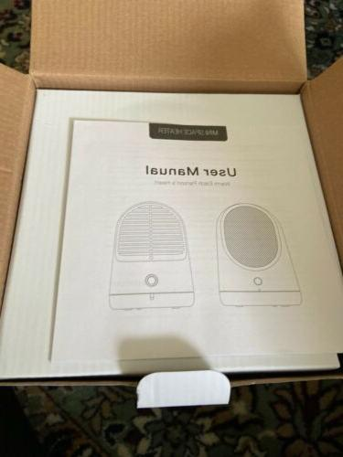 Portable Air Mini Fan Winter Warm