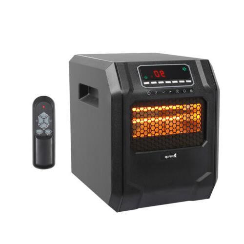 ZOKOP 4-Element Quartz Infrared Portable Large Room Electric