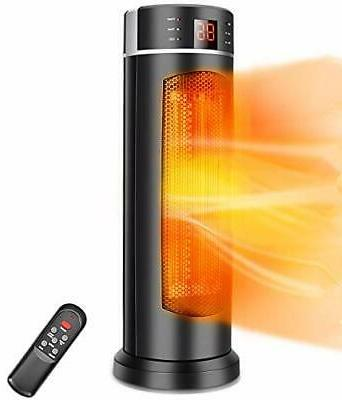 space heater tower heater 1500w 70 oscillation