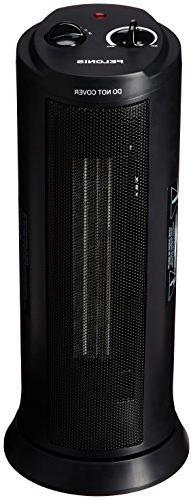Pelonis Tower Ceramic Heater - Adjustable Thermostat- Oscill