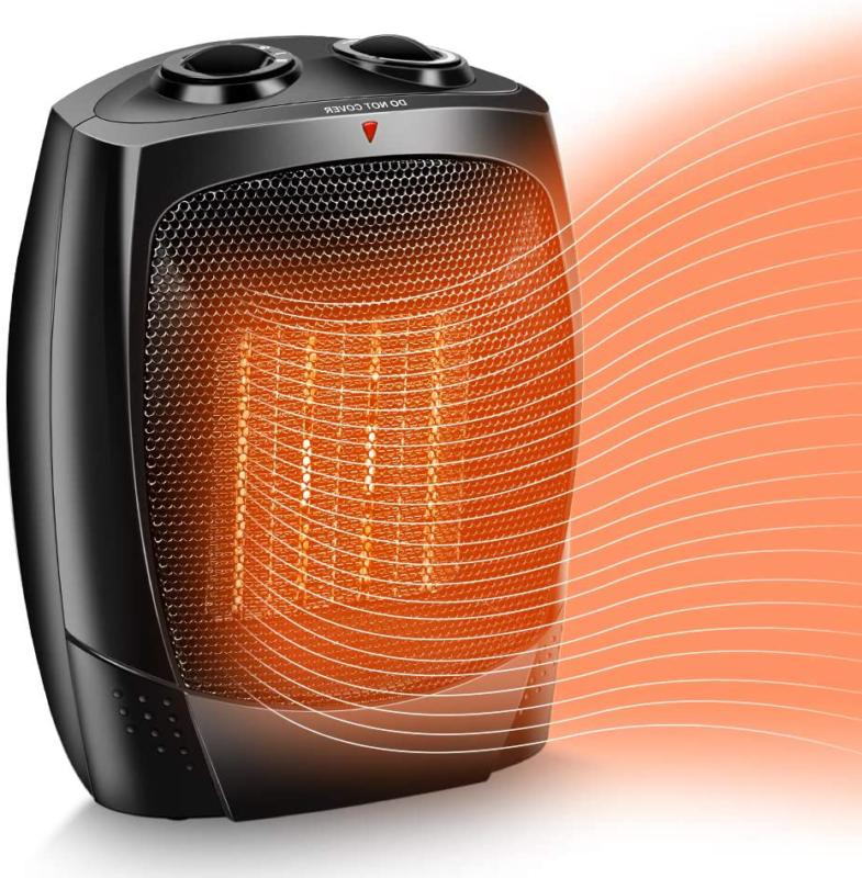 TRUSTECH Space Heater 1500W Portable Heater Up to 200sq 3 Mo