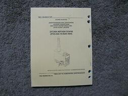 Military Book for Space Heater, Arctic , made by Hunter, New