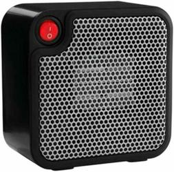 NIB MAINSTAYS Personal Ceramic Heater 250w Perfect for Small