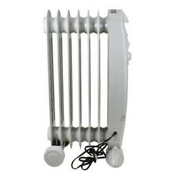 Comfort Zone Oil-Filled Electric Radiator Heater | 3 Heat Se
