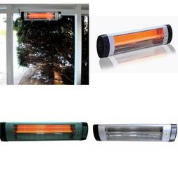 Outdoor Electric Heater Wall Mount Infrared Large Patio Indo
