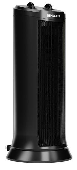 "Pelonis 17"" 1500W Ceramic Tower Space Heater, NTH15-17L, Bla"