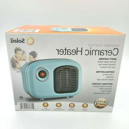 Soleil Personal Ceramic Mini Heater 250W Indoor 🔥 Limited