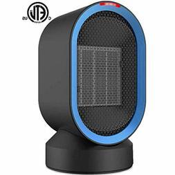 Sendowtek Personal Space Heater 2s Fast Heating Fan Quiet El