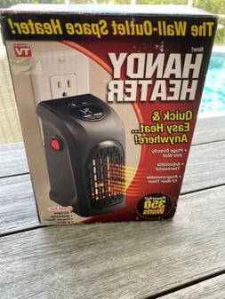 "Handy Heater Plug In The Wall Space Heater 350 Watts "" Amazi"
