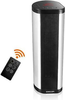 Portable 1500W Vertical And Horizontal Ceramic Tower Space H