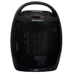 Vie Air Portable 2-Settings Ceramic Heater with Adjustable T