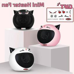 ❤ Portable Mini Cute Electric Heater Fan Space Room Wamer