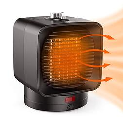 Portable Ceramic Space Heater for Home and Office 1500 W Qui
