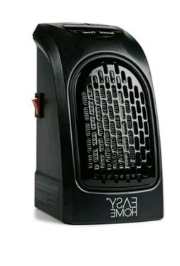 Easy home portable ceramic space heater wall outlet plug in