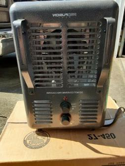 PORTABLE ELECTRIC UTILITY HEATER  1500W Thermostat Home Fan
