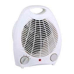 2in1 Portable Fan Heater White, Heaters, Fireplaces