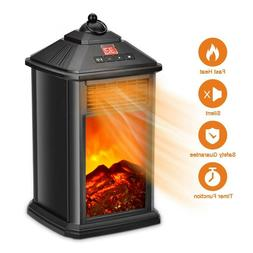 Portable Fireplace Heater  for Office Home Indoor Use 800W