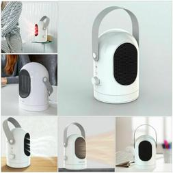 Portable Handle Electric Space Heater Car Home Heating Fan A
