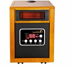 Portable Infrared Quartz Space Heater with Humidifier RC Aut